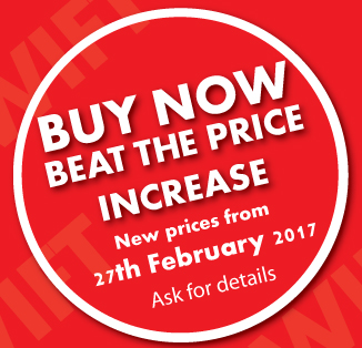 Beat the Price Increase - Buy Now!!